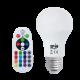 Bec LED E27 8W Iluminare 260 Grade RGBW