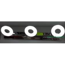 Aplica LED 3W Suport Nichelat 3 Spoturi LZ7875