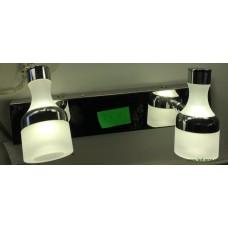 Aplica LED 2W Suport Nichelat 2 Spoturi LZ7930