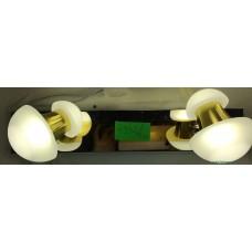 Aplica LED 2W Suport Nichelat 2 Spoturi LZ7942
