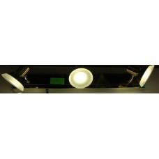 Aplica LED 3W Suport Nichelat 3 Spoturi LZ7931