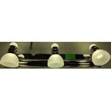 Aplica LED 3W Suport Nichelat 3 Spoturi LZ7953