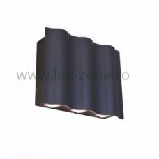 Aplica LED 6x3W Exterior LZ1403