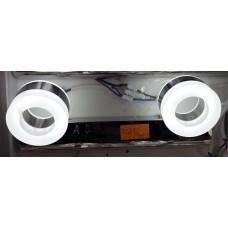 Aplica LED 2W Suport Nichelat 2 Spoturi LZ7287