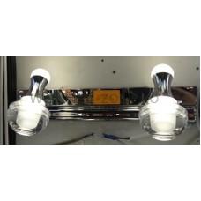 Aplica LED 2W Suport Nichelat 2 Spoturi LZ7999