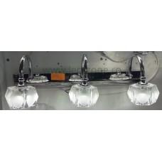 Aplica LED 3W Suport Nichelat 3 Spoturi LZ7276
