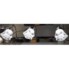 Aplica LED 3W Suport Nichelat 3 Spoturi LZ7908