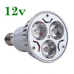 Bec Spot LED E14 3x1W 12V