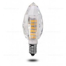 Bec LED E14 7W Lumanare Model Cristal