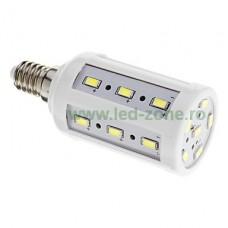 Bec LED E14 5W Corn SMD5730