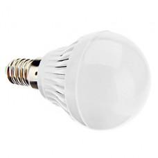 Bec LED E14 3W Glob Mat Plastic
