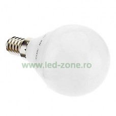 Bec LED E14 3W Iluminare 260 Grade Plastic