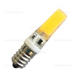 Bec LED E14 5W COB Silicon