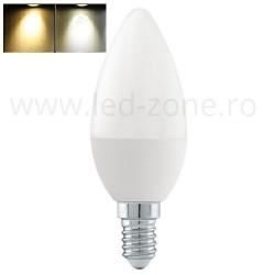 Bec LED E14 5W Lumanare 2 functii Premium