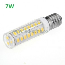 Bec LED E14 7W Corn Ceramica