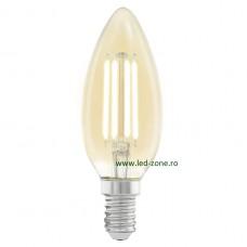 Bec LED Vintage E14 4W Lumanare C35