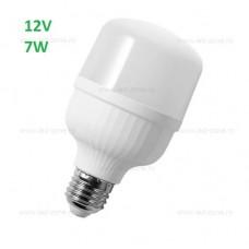 Bec LED E27 7W Mat Plastic 12V