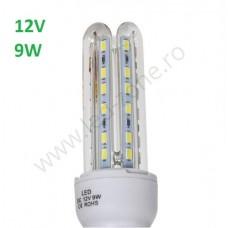 Bec LED E27 9W 3U 12V