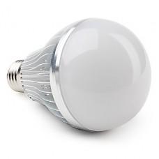 Bec LED E27 12W Glob Mat Aluminiu