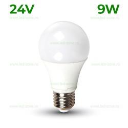 Bec LED E27 9W Iluminare 200 Grade 24V
