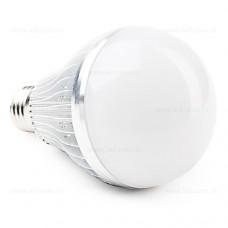 Bec LED E27 15W Glob Mat Aluminiu