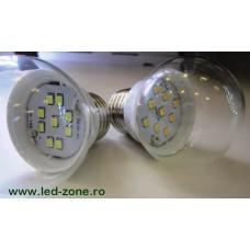 Bec LED E27 5W Glob Clar 260 Grade