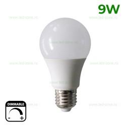 Bec LED E27 9W Iluminare 260 Grade Dimabil