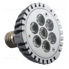 Bec LED PAR30 E27 7x1W 220V