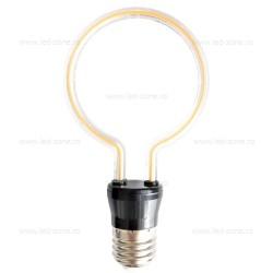 Bec LED E27 4W Decorativ Cerc