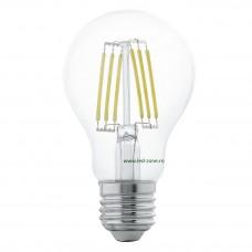 Bec LED E27 6W Filament Glob Clar A60
