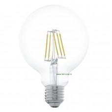 Bec LED E27 6W Filament Glob Clar G95