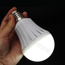 Bec LED E27 7W Glob Mat Acumulator