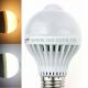 Bec LED E27 7W Glob Mat Senzor Miscare