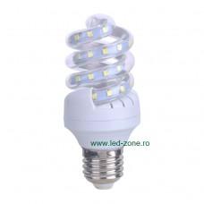 Bec LED E27 5W Spirala