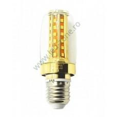 Bec LED E27 9W Corn cu Protectie
