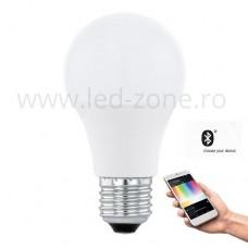 Bec LED E27 9W Glob Mat RGB + White Premium