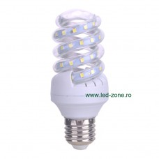 Bec LED E27 9W Spirala