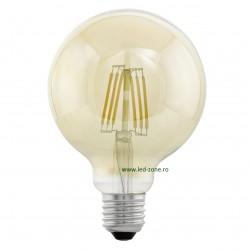 Bec LED Vintage E27 4W Glob G95