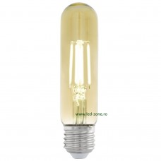 Bec LED Vintage E27 Cilindric T48