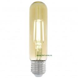 Bec LED Vintage E27 3.5W Cilindric T32 Premium