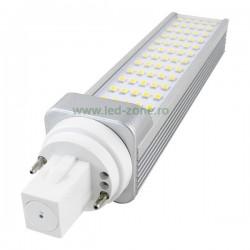Bec LED G24 9W Clar Unidirectional
