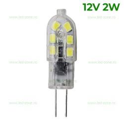 Bec LED G4 2W Corn Clar 12V