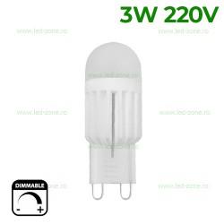 Bec LED G9 3W Corn Dimabil