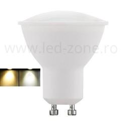 Bec Spot LED GU10 5W 2 functii Premium