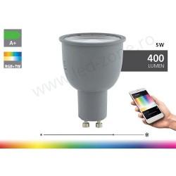 Bec Spot LED GU10 5W RGB + White Premium