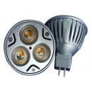 Bec Spot LED MR16 3x1W 220V