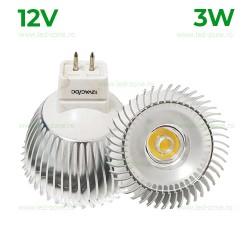 Bec Spot LED MR16 3W COB 12V