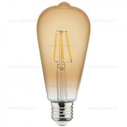 Bec LED Vintage E27 4W Para ST64