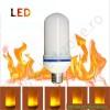 Bec LED E27 7.5W Cilindric Efect Flacara