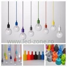 Pendul Soclu E27 Diverse Culori